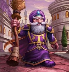 Card Name: Dalaran Mage Artist: Jim Nelson
