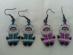 Inuit beaded eskimos by Linda Gordon