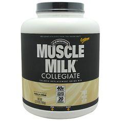 CytoSport Muscle Milk Vanilla Creme - 5.29 lbs (2400 g) #fitness #healthy #health #sports #fitnessmodel #gym