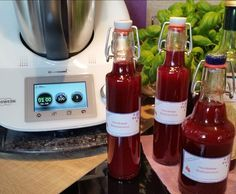 Rezept Himbeer-Balsamico von Iris' LilaLauneKüche - Rezept der Kategorie Grundrezepte