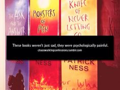 Chaos Walking Confessions