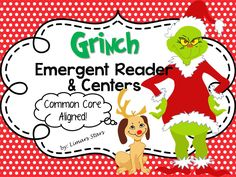 Who doesn't love the Grinch at Christmas? This download will fit in perfectly with your Grinch activities!