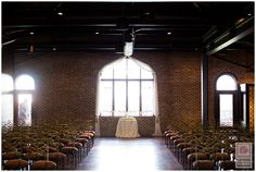 Ceremony setup at Canal 337.  Check it out >>>  http://blog.nathanieledmunds.com/2014/10/08/jamie-andrew/