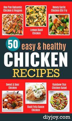 Easy Healthy Chicken