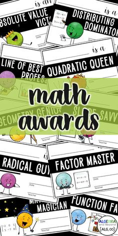 Math Teacher, Math Classroom, Teaching Math, Teaching Ideas, Math College, Math Quotes, Award Certificates, Secondary Math, Fun Math