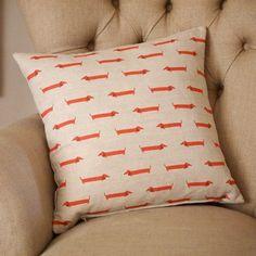 Dachshund Cushion – FROM