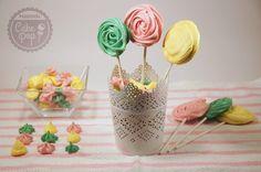 merengue coloreado | Mundo Cake Pop