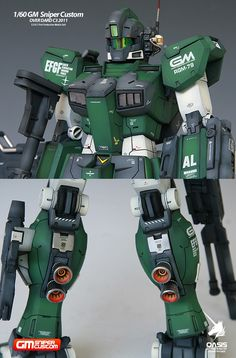1/60 GM Sniper Custom Over Dard C3 2011 - Painted Build Modeled by gonzo2000