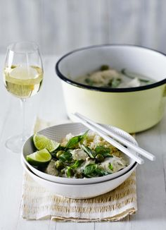 Easy Thai green curry. Thai green curry is an Asian classic and it is very popular in the UK. Try our delicious green curry recipe from our wine writer Victoria Moore that shows you how to make the curry paste from scratch so that the fresh, vibrant flavours really come through.