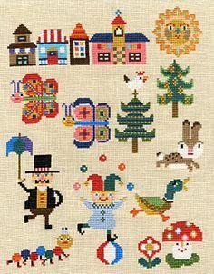 free mini cross stitch - Google Search