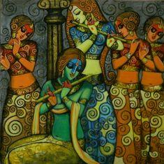 Lord Shri Krishna by Kishore roy