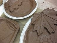 Pinch Pots Ideas - Bing Images,,, on chinette plate with leaf. very cool