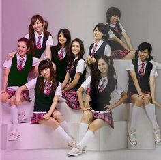 Japanese School Girl Costume GIRLS GENERATION red plaid student uniform school wear student school uniform class service costume-in School Uniforms from Apparel Snsd, Seohyun, Girls Generation, Pole Dancing Clothes, Dance Clothing, Hip Hop, Japanese School Uniform, Jessica Jung, Red Plaid