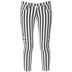 Zara Striped 5b Trousers (€31)