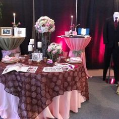 Serendipity Bridal and Events Bridal Show display