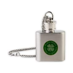 Stainless steel, small in size and easily within reach, some would call our mini-flask on a chain the ideal jewelry accPrice - $19.50