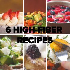 6 High-Fiber Recipes // #fiber #protein #healthy #recipes #eggs #breakfast #lunch #goodful