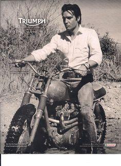 #Triumph Motorcycles#Elvis                                                                                                                                                     More
