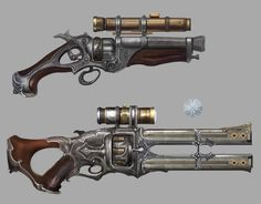 Image result for steampunk gun concept