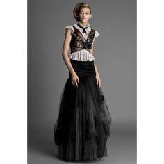 Top dantela elegant, cu un look aristocrat si detalii pe umar. Elegant, Tops, Fashion, Classy, Moda, Fashion Styles, Fashion Illustrations, Chic