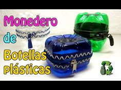 68. Manualidades: Alcancía o monedero con botellas plásticas(Reciclaje de Pet) Ecobrisa. - YouTube