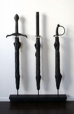 sword handle umbrellas