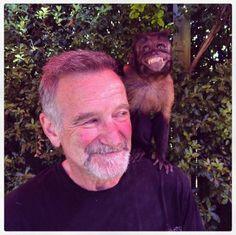 Robin WIlliams and friend