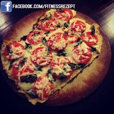 Zucchini-Krusten Pizza