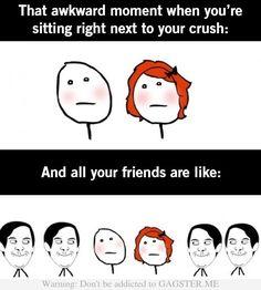 My school friends always do this