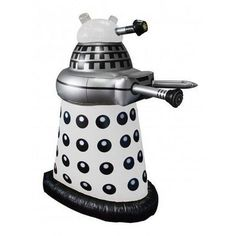 Doctor Who Small Inflatable 30 Desk White Dalek
