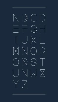 Urban Font by Design Devision , via Behance                                                                                                                                                      More