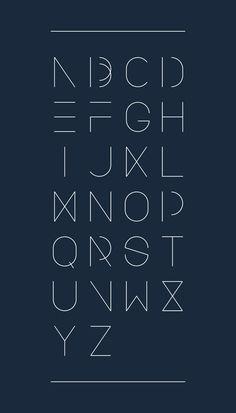 Urban Font by Design Devision , via Behance