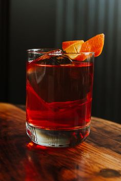 This classic Negroni is what inspired it all! Dry Gin, June 24, Summer Cocktails, Shot Glass, Inspired, Tableware, Classic, Derby, Dinnerware