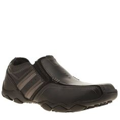 Skechers Black Diameter Zimroy Mens Shoes Skechers get the gents in on the Memory Foam comfort, with the Diameter Zimroy. The smart/casual option is executed in black leather, with tonal man-made overlay and decorative stitch detail. Elastica http://www.MightGet.com/january-2017-13/skechers-black-diameter-zimroy-mens-shoes.asp