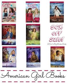 Great books for grade school girls (and boys!) American Girl Books 90 percent off, huge sale time to stock up. Christmas is just around the corner tween or teen gift ideas,