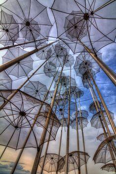The Umbrella feature at Thessaloniki. Amazing Photography, Art Photography, National Geographic Images, Greek Isles, Thessaloniki, Macedonia, Your Shot, Greece Travel, Public Art