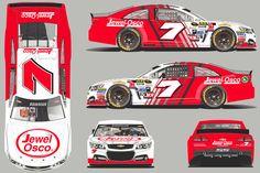 Jayski's® NASCAR Silly Season Site - 2015 NASCAR Sprint Cup Series #7 Paint Schemes