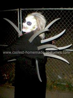 coolest homemade beetlejuice adult costume - Davis Halloween Store