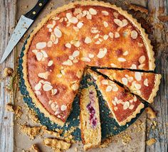 Sugar-free Berry almond Bakewell