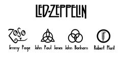 Led Zeppelin's symbols