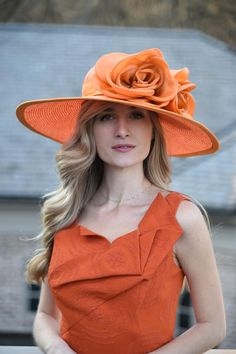 Check out some of her designs below for inspiration or view her full line at at camhats.com. Use promo code KYDERBYFEATURED147 for 15% off. Derby Party, Kentucky Derby Hats, May 1, Orange, Check, Inspiration, Vintage, Design, Fashion