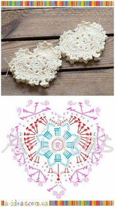 Beautiful crochet heart