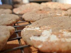 Marshmallow-Erdnussbutter-Kekse mit Haferflocken