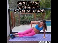 Emily Skye Home Workout Without Equipment