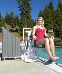 Pool Lifts for public and private pools.