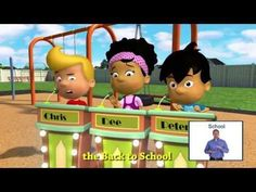 Understand the Basic School Rules with this WonderGrove Kids animation with sign language by Signing Savvy. WonderGrove Kids animations are for Pre-K, Kinder. Back To School Videos, Back To School Night, 1st Day Of School, Beginning Of The School Year, School Fun, School Stuff, Middle School, Classroom Rules, Kindergarten Classroom