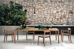 Teka collection: il teak per l'outdoor by RODA