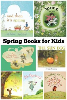 Teach your children about seasonal changes with these magical spring books for kids! Kids Books   Spring