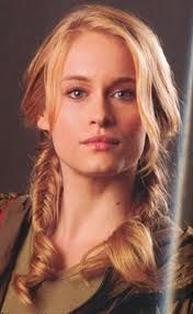 Leven Rambin plays Glimmer, the female chosen to be in the hunger game from District 1.