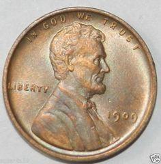 1909 Lincoln Cent Gem BU. $55.00 OBO +1.85 Shipping.